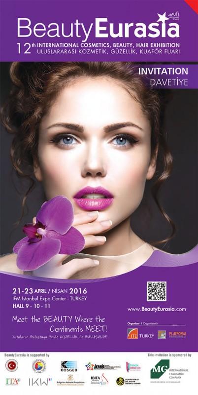 Beautyeurasia – 12. međunarodni sajam kozmetike, lepote i nege kose