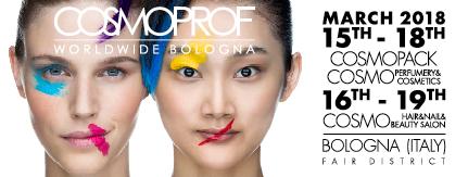Cosmoprof worldwide Bolonja 2018.
