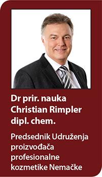 Dr prir. nauka Christian Rimpler dipl. chem.