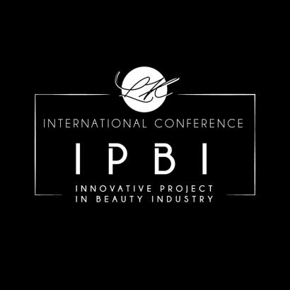 Innovative Project in Beauty Industry IPBI konferencija logo crni