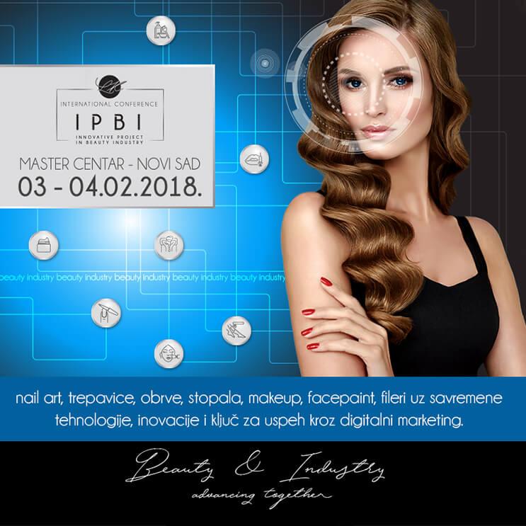 Innovative Project in Beauty Industry IPBI konferencija