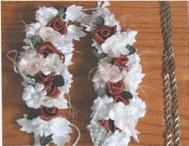 Umjetno cvijeće za kićenje pletenice