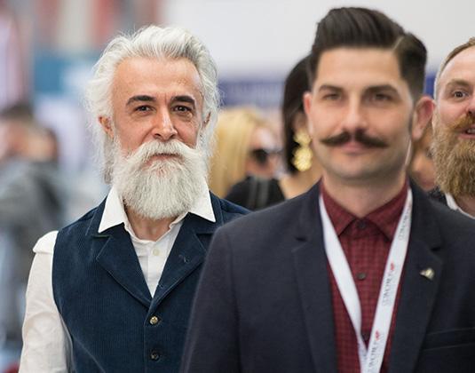 men's hair and beard styles