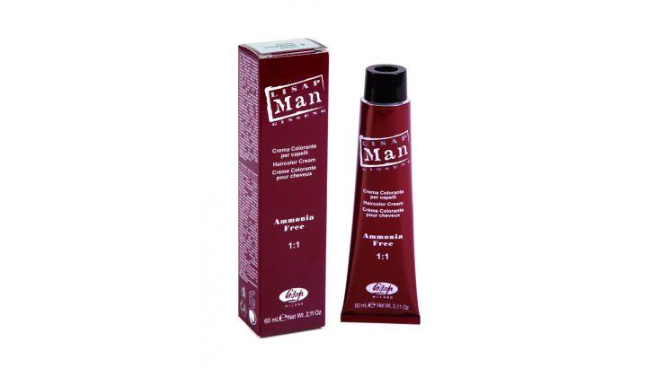 LISAP Man Color – boja za kosu za muškarce