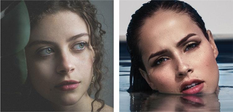 negovana koža lica
