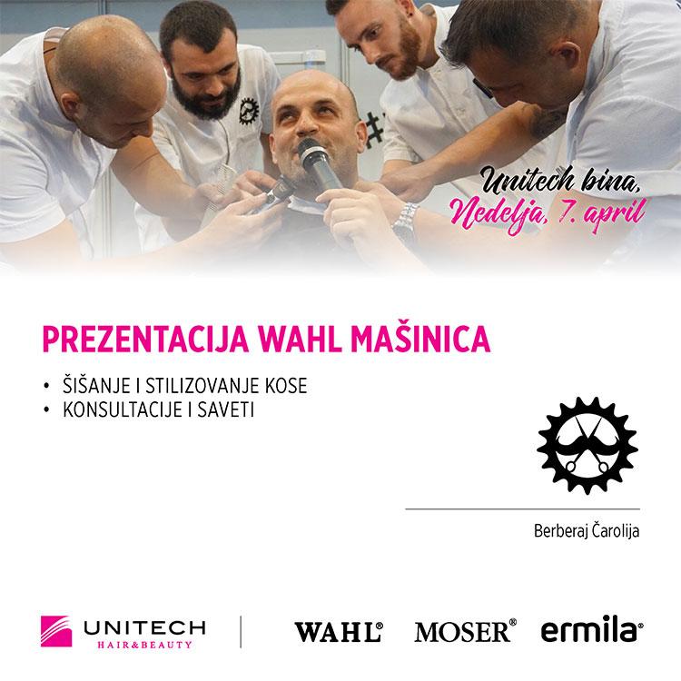 Prezentacija Wahl mašinica za šišanje