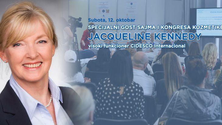 Specijalni gost CIDESCO Jacqueline Kennedy