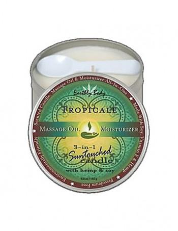 3 in 1 Suntouched Candle - Ulje za masažu u vidu sveće - Tropical
