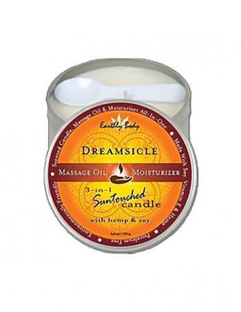 3 in 1 Suntouched Candle - Ulje za masazu u vidu svece - Dreamsicle