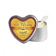 3 in 1 Suntouched Candle - Ulje za masazu u vidu svece - Heart Nag Champa