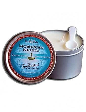 3 in 1 Suntouched Candle - Ulje za masazu u vidu svece - Morrocan Nights