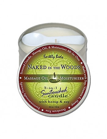 3 in 1 Suntouched Candle - Ulje za masazu u vidu svece - Naked In The Wood