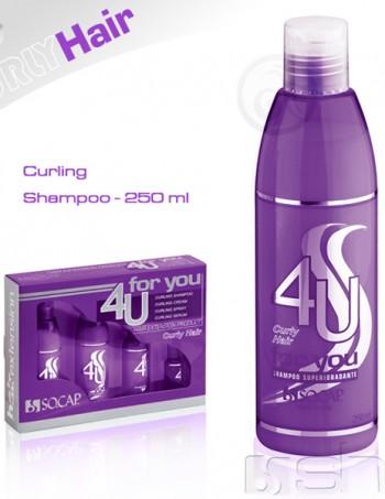 4U Šampon za nadograđenu kovrdžavu kosu