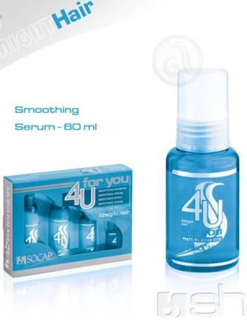 4U Smoothing serum za nadograđenu kosu