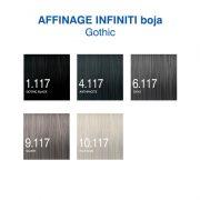 Affinage Infiniti Gothic boja za kosu + hidrogen -nijanse