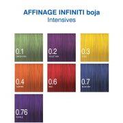 Affinage Infiniti Intensives boja za kosu nijanse