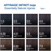 Affinage Infiniti boja Essentially Natural nijanse 1