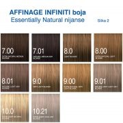 Affinage Infiniti boja Essentially Natural nijanse 2