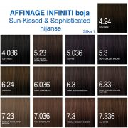 Affinage Infiniti boja Sun Kissed, Sophisticated nijanse 1