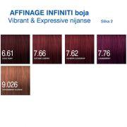 Affinage Infiniti boja Vibrant , Expressive nijanse 2