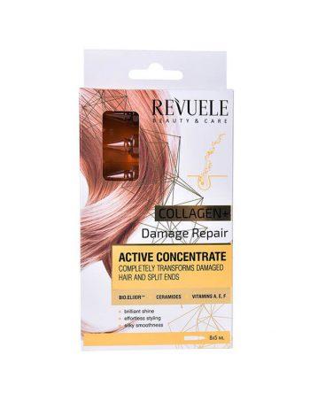 Ampule za ostecenu kosu REVUELE Collagen 8x5ml