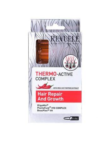 Ampule za rast kose REVUELE Thermo-active Complex 8x5ml