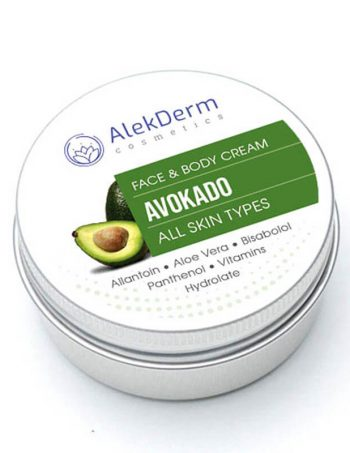Avokado krem – AlekDerm Face & Body Cream