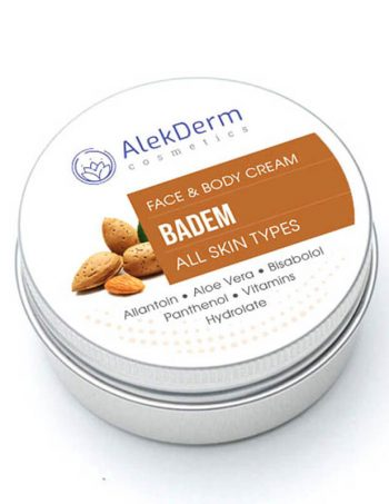 BADEM-KREM – AlekDerm Face & Body Cream