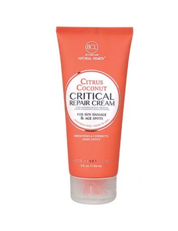 BCL SPA Citrus Coconut Critical Repair Creme