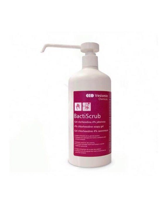 Bactiscrub – Sapunski gel sa 4% hlorheksidina - za kupanje pacijenata hirursku dezinfekciju ruku