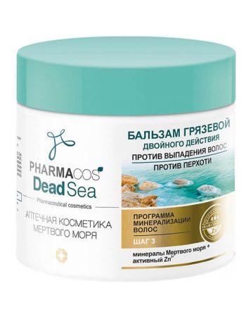 Balzam od blata s dvostrukim dejstvom protiv opadanja kose protiv peruti Pharmacos Dead Sea