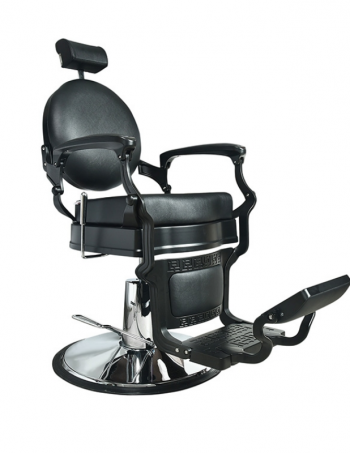 Berberska stolica TIBER 5258D-1 - A30 crna