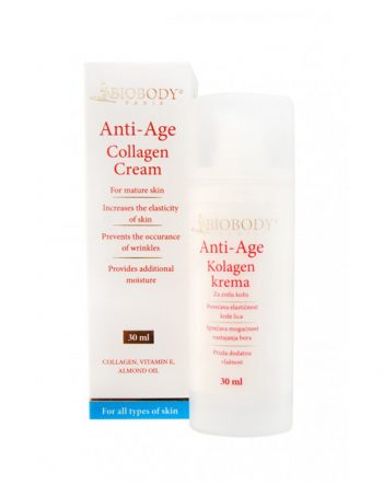 Biobody ANTI-AGE colagen cream