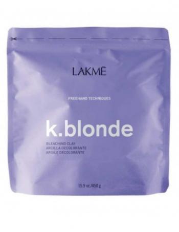 Blans na bazi gline - Lakme K.blonde Bleaching clay 450g