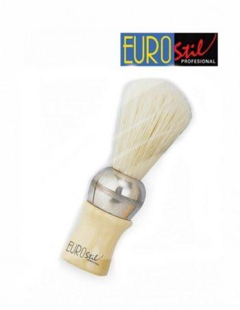 Cetka za brijanje srednja bela 0644