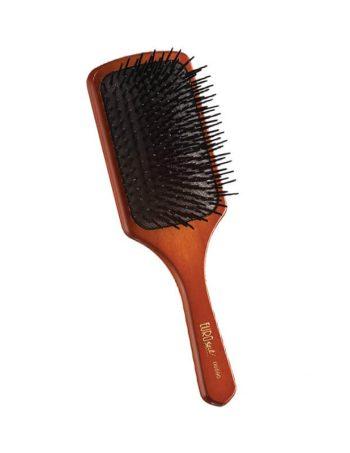 Cetka za kosu drvo-plastika Kocka velika 0590