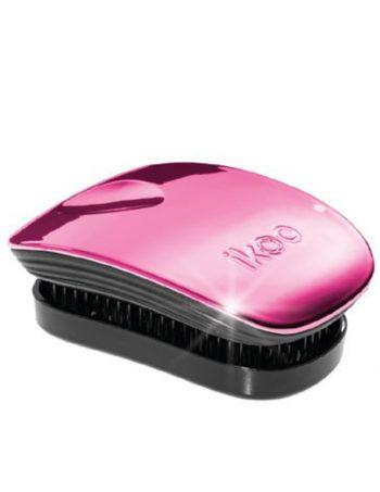 Cetka za rascesljavanje kose IKOO Mini Pocket Metalic