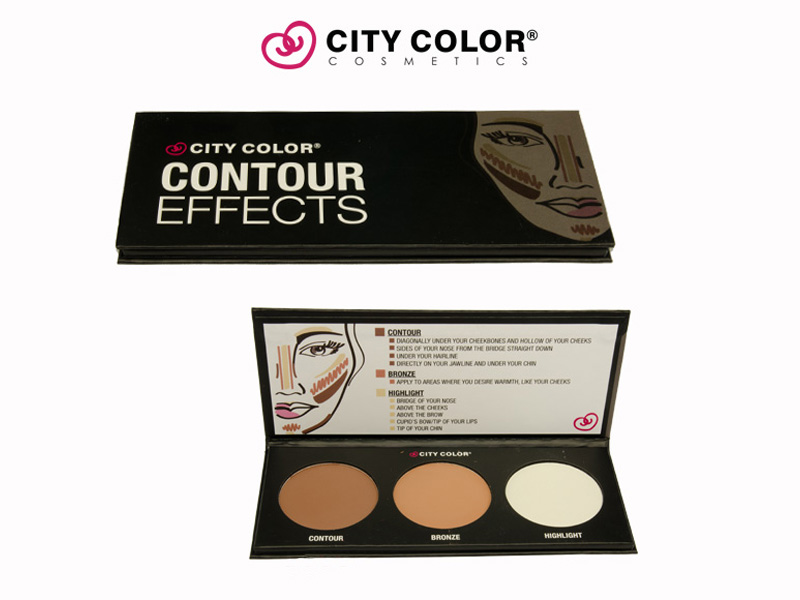 City Color Paleta za konturisanje