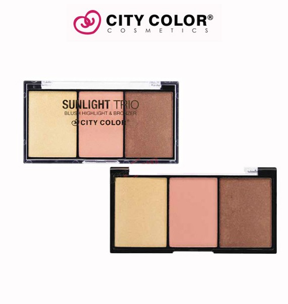 City color set Puder-bronzer-illuminator 1