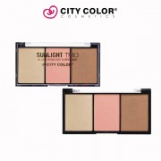 City color set Puder-bronzer-illuminator 2