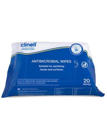 Clinell antimikrobne visenamenske maramice ( za dezinfekciju ruku i povrsina)