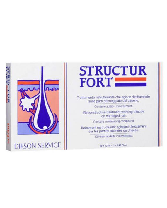 Dikson Structur Fort ampule za ostecenu kosu
