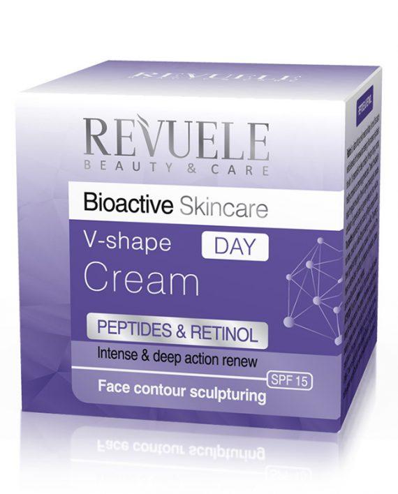 Dnevna-Krema-V-Shape-Peptids&Retinol-REVUELE-Bioactiv-50ml