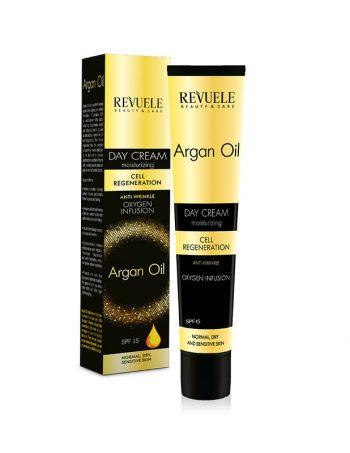 Dnevna krema protiv bora REVUELE Argan Oil
