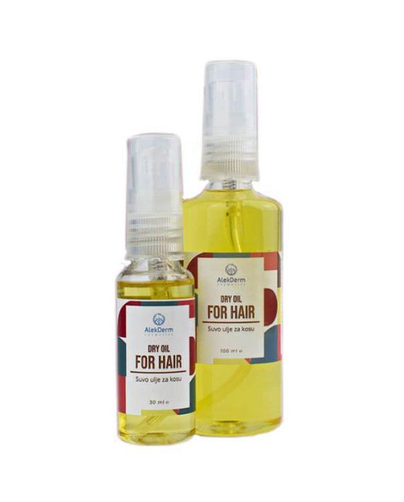 Dry oil for hair – Suvo ulje za kosu