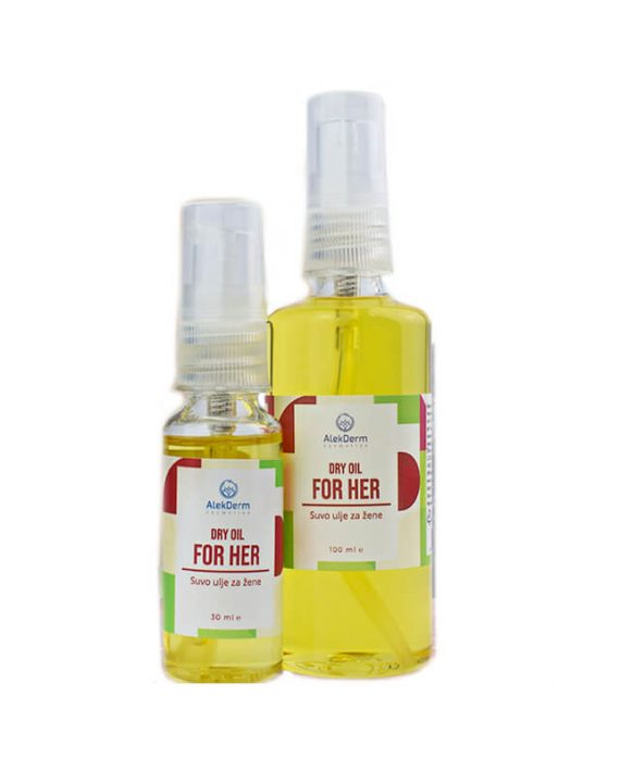 Dry oil for her – Suvo ulje za nju