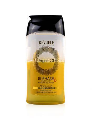 Dvofazno sredstvo za uklanjanje sminke REVUELE Argan Oil