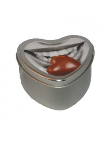 Edible Heart Candle - Ulje za masazu u vidu svece - Chocolate