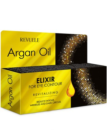Eliksir za predeo oko ociju Revitalizing REVUELE Argan Oil