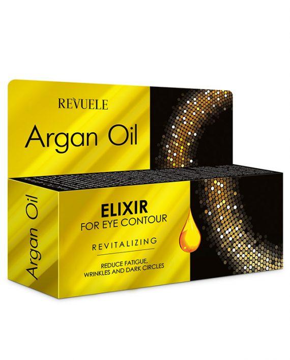 Eliksir za predeo oko ociju Revitalizing REVUELE Argan Oil